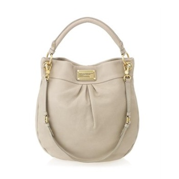 Marc by Marc Jacobs Classic Q Hillier Hobo Creme