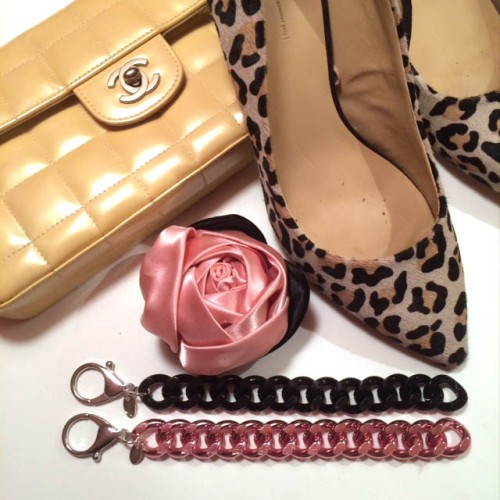 tribeca pink black